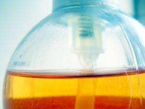 glycerine in a bottle