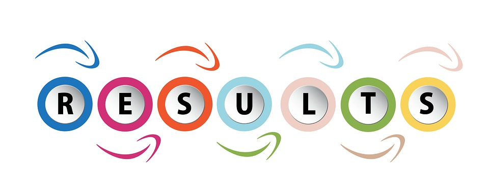 """word graphic showing the word """"RESULTS"""""""