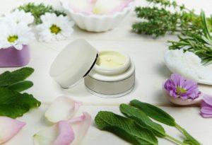 generic skin cream with open lid