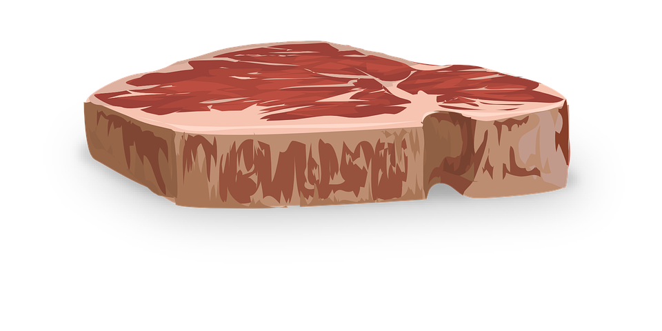picture of raw steak