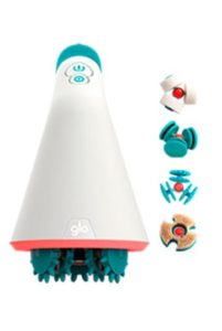 photo of the glo 910 device with all 4 interchangeable heads